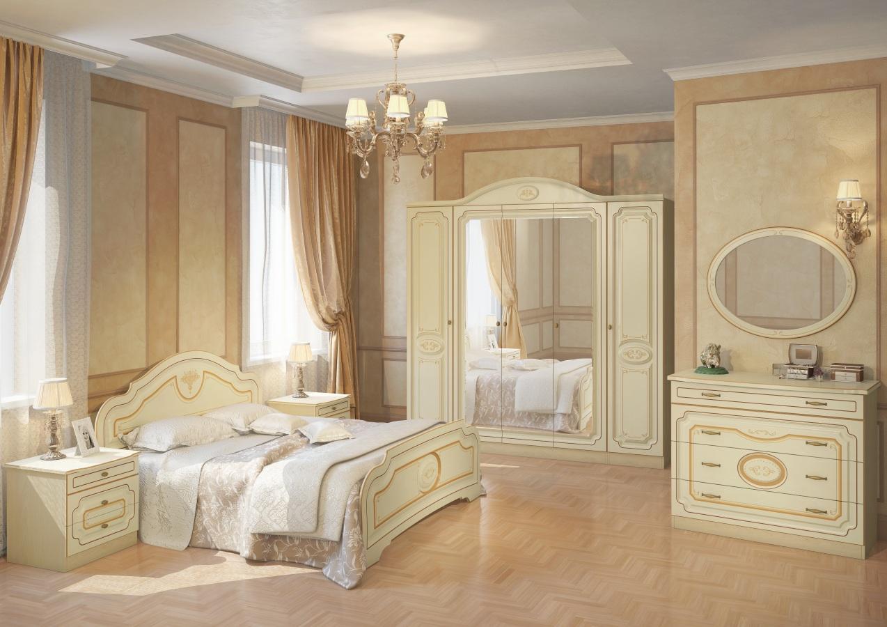 белорусская спальня виктория 1 от белдрев купить в москве